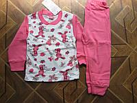 Детская пижама интерлок для девочки 86. 98. см Турция
