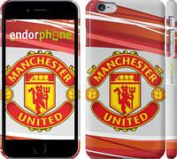 """Чехол на iPhone 6 Plus Манчестер Юнайтед 1 """"329c-48"""""""