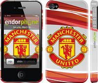 """Чехол на iPhone 4 Манчестер Юнайтед 1 """"329c-15"""""""