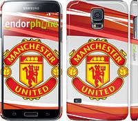 "Чехол на Samsung Galaxy S5 Duos SM G900FD Манчестер Юнайтед 1 ""329c-62"""