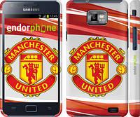 "Чехол на Samsung Galaxy S2 i9100 Манчестер Юнайтед 1 ""329c-14"""