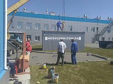 Вагончик для жилья (6 х 2.4 м.) с оборудованным санузлом, душевой, комнатой отдыха ПОД КЛЮЧ, фото 2