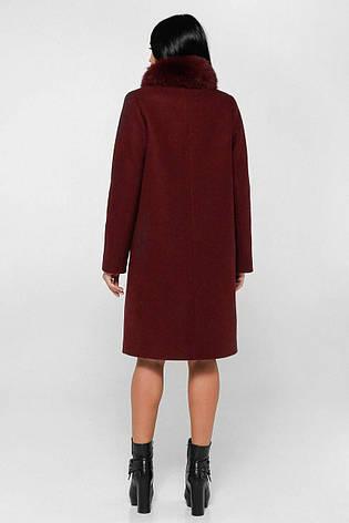 Пальто женское зимнее  П-990 н/м Шерсть пальтовая 113-1712 Тон 14   46, 50, 56р., фото 2