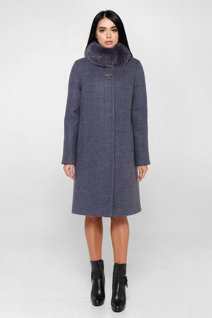Пальто женское зимнее  П-990 н/м Шерсть пальтовая 113-1712 Тон 12 |46, 50, 58р.