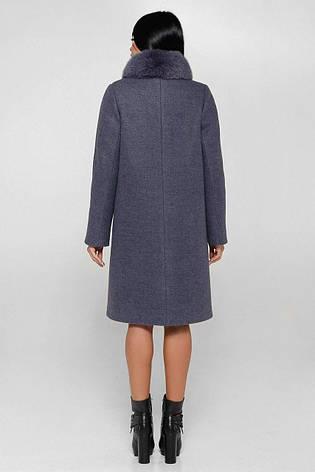Пальто женское зимнее  П-990 н/м Шерсть пальтовая 113-1712 Тон 12 |46, 50, 58р., фото 2