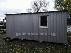 Вагончик 2-х модульный (6 х 4.8 м.), для производства, офиса, штабной, на основе металлокаркаса., фото 3