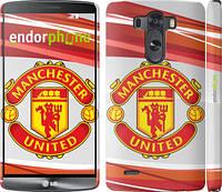 """Чехол на LG G3 D855 Манчестер Юнайтед 1 """"329c-47"""""""