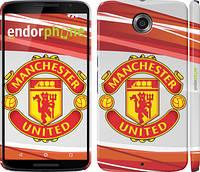 "Чехол на Motorola Nexus 6 Манчестер Юнайтед 1 ""329c-67"""