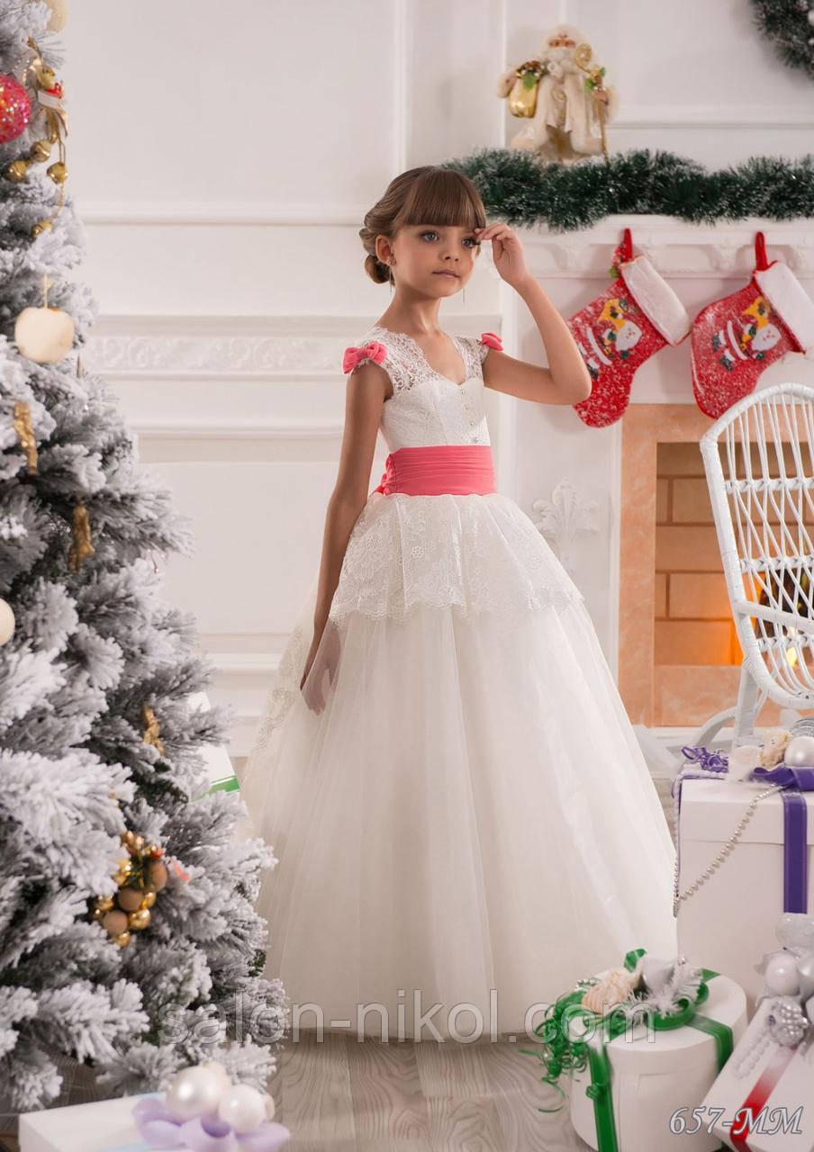 Детское нарядное платье № 15
