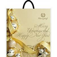 Новогодний пакет с петлевой ручкой Рождество 400*420, 10 шт