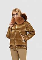 Женская стильная зимняя куртка