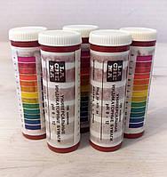 Бумага индикаторная pH 0-12, в упаковке 100 штук.
