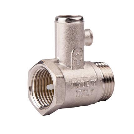 Предохранительный клапан для водонагревателя ICMA GS08 (Италия), фото 2