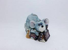 Копилка Мышь 9х11 см, Копилка мышь, подарок на Новый Год 2020, копилка символ Нового Года