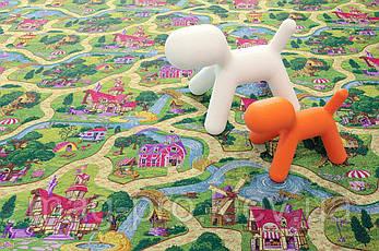 Детский ковролин Карамельный город (CANDY TOWN), фото 3