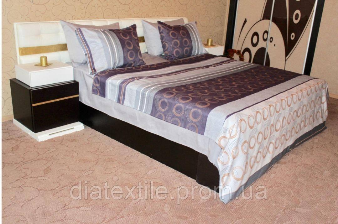 Двохспальний постільний комплект 100%котон(хлопок), фото 1