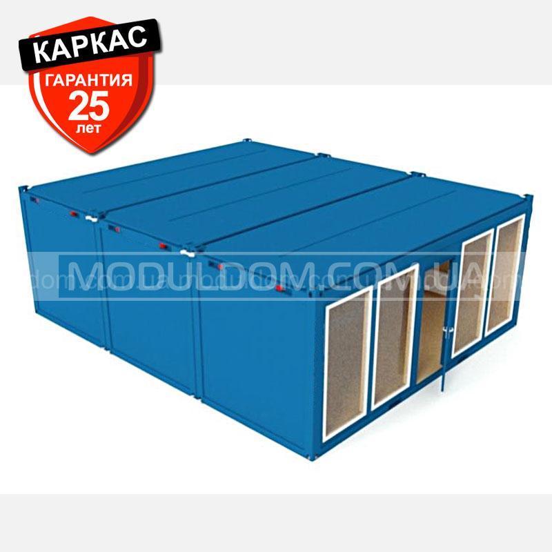 Торговый контейнер, блок-контейнер ОПЕНСПЕЙС-3 (6 х 7.2 м.), площадь застройки 43.2 м2.
