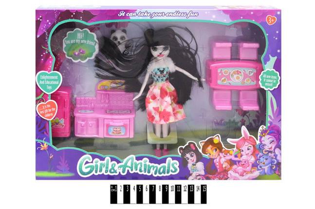 """Кукла с набором кухонной мебели  """"Enchantimals"""" в кор. 29*40*5,5см /60-2/, фото 2"""