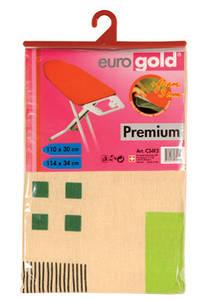 Сменный чехол Standart для гладильной доски 110*30 (+-2 см), Eurogold (Украина)