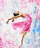 Картина по номерам на холсте Танец красок, GX29767