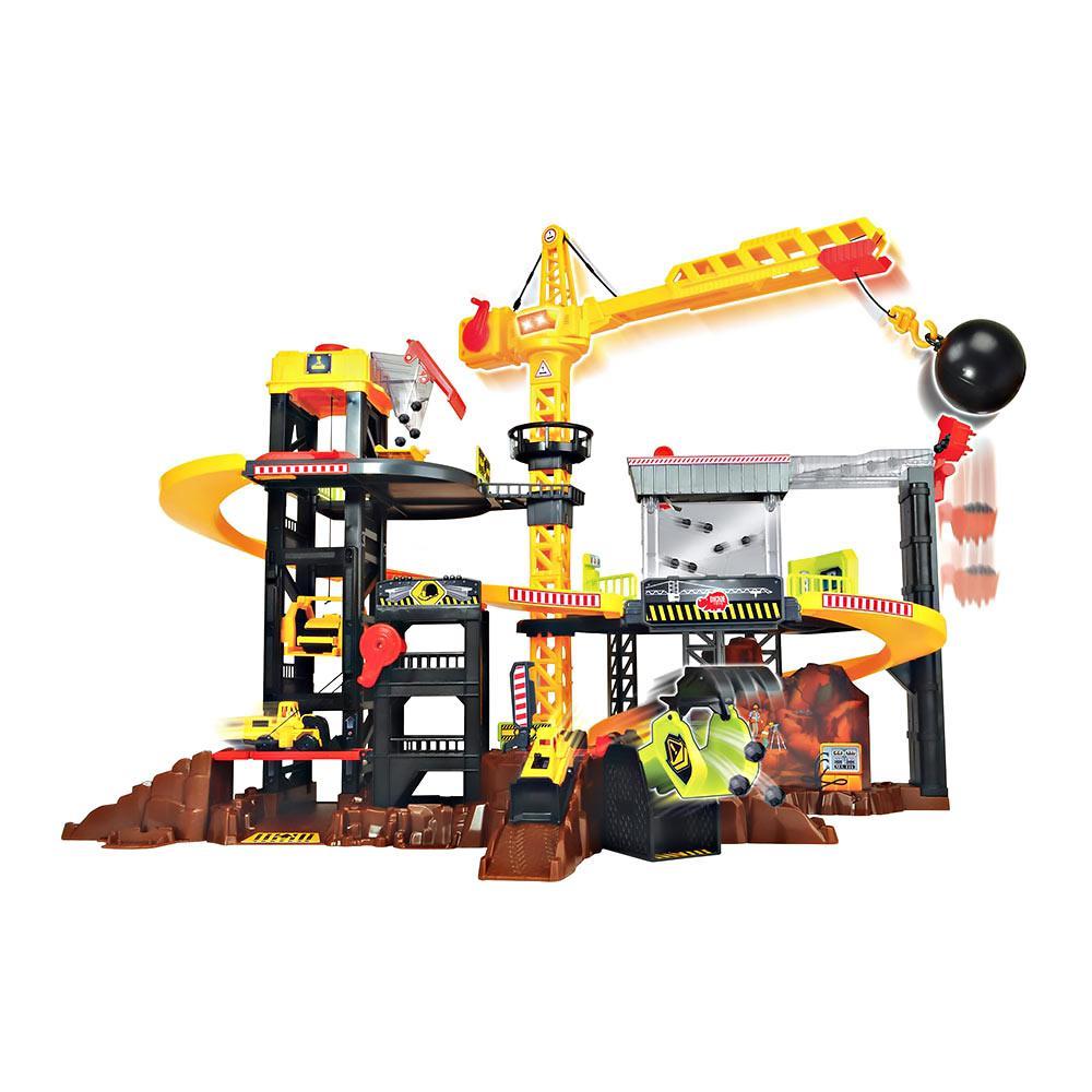 Игровой набор Dickie Toys Строительная площадка с техникой и аксессуарами 3729010
