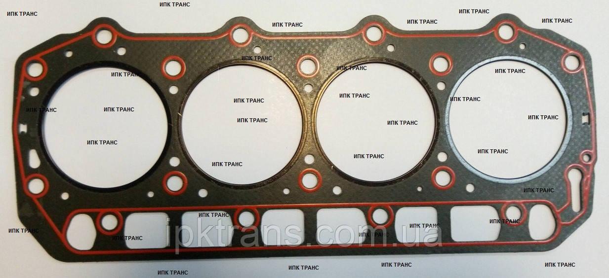 Прокладка головки блока на двигатель KOMATSU 4D92E Асбест