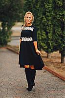 Платье с пышной юбкой Амели 02 чёрное ( 236-02), фото 1