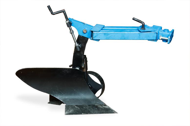 Плуг активный с опорным колесом (к мотоблокам 1100,105,135) (захват 200мм, глубина до 250 мм)