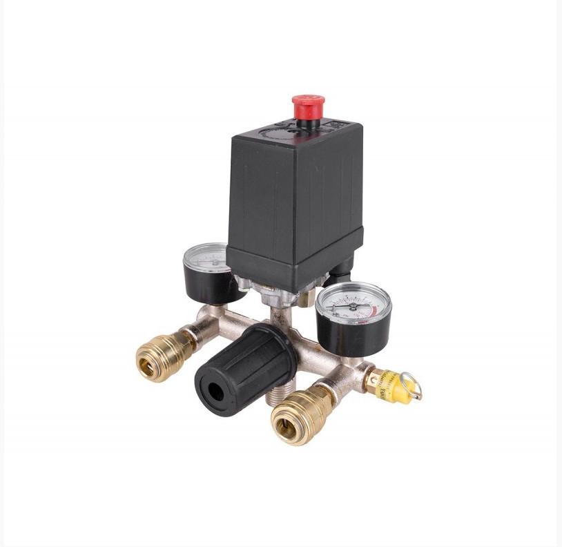 Автоматика для компрессора в сборе (Прессостат) : для 24, 50, 60, 75 л от 230В