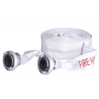 Рукав пожарный прорезиненный (Шланг) : 20 м | Диаметр - 52 мм | C наконечником