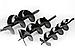 Шнек буровой (бур) на мотобур : 250 мм, фото 5