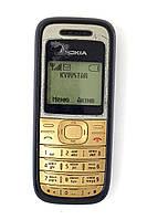 Мобильный телефон б/у Nokia 1200 Rh-99 полностью рабочий black
