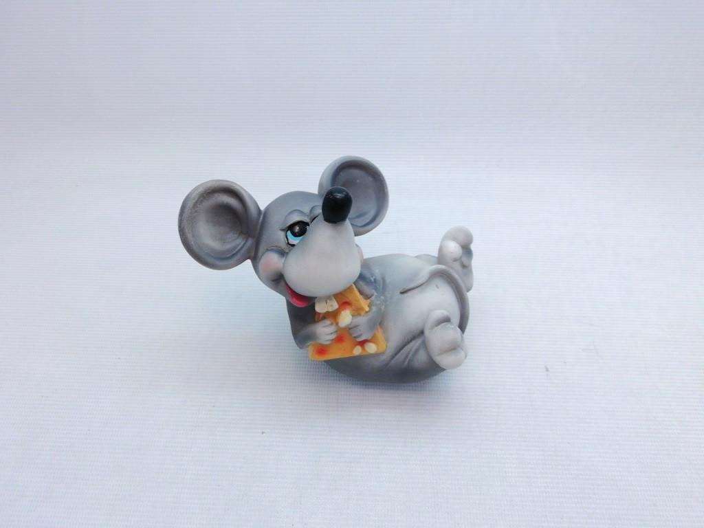 Копилка Мышь 15х6 см, Копилка мышь, подарок на Новый Год 2020, копилка символ Нового Года