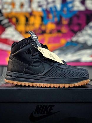 Кроссовки Nike LF1 DUCKBOOT 16 черные-коричневые, фото 3