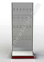 Стеллаж прямой приставной перфорированный 2100 * 1200 мм Рістел, фото 1