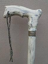 Трость для ходьбы эксклюзивная, деревянная, фото 3