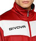 Спортивный костюм Givova Tuta Visa (красный-белый / черный) - Оригинал, фото 4
