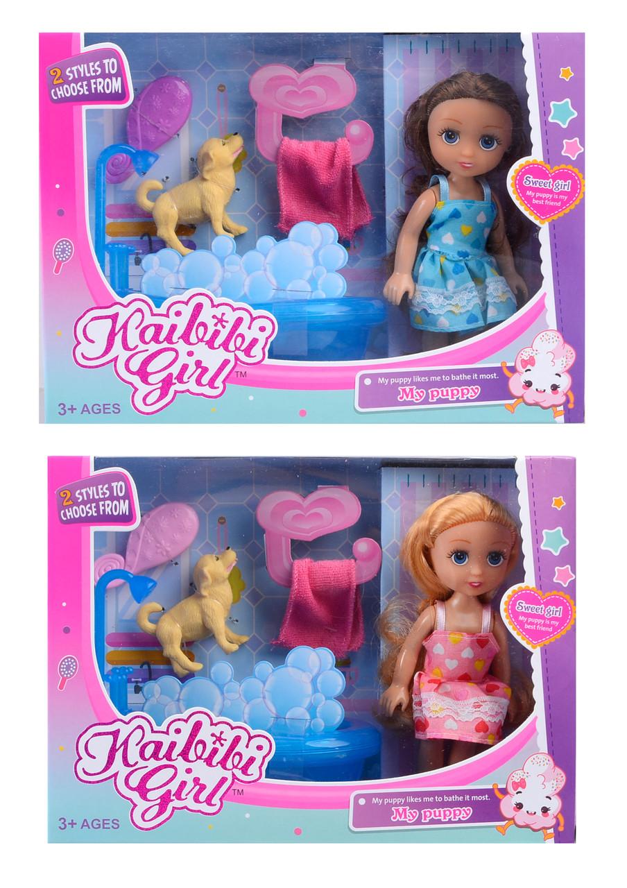Кукла KAIBIBI 15см BLD226 с ванной, аксес.2в в кор.24*8,5*17,5см /72/