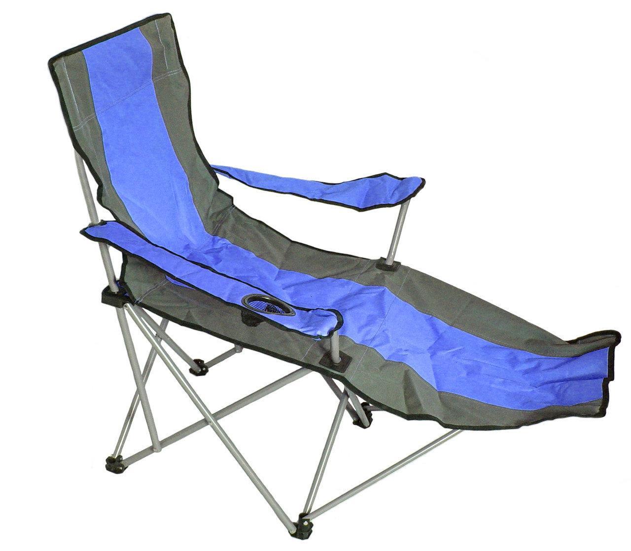 Кресло-шезлонг MH-3088 115х58х90 см, синее