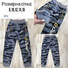 Спортивные трикотажные штаны для мальчиков-юниоров на возраст от 8 до 16 лет