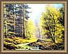 Картина Осінь 400х600 мм в багетній рамі №396