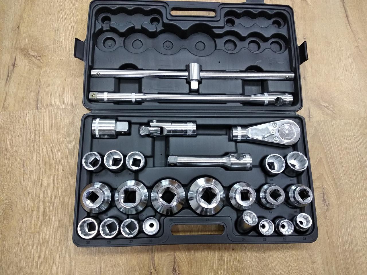 Набор торцевых ключей LEX 26 : Хром-ванадиевая сталь | 26 предметов