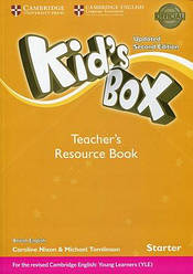Kid's Box Updated 2nd Edition Starter Teacher's Resource Book with Online Audio British English