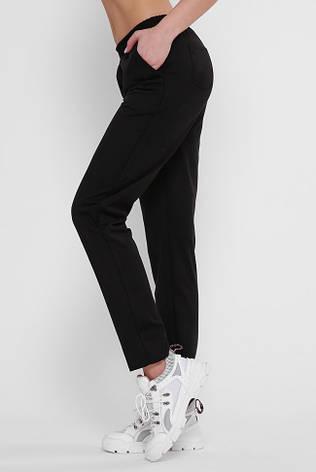 Стильные черные женские брюки осень-весна, фото 2