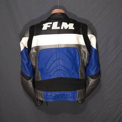 Мотокуртка FLM б/у кожа, фото 2