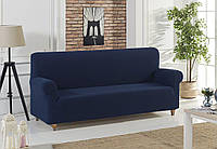 Чехол на диван Темно - синий Home Collection Karna Турция 50077