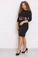 / Размер 48-72 / Женское платье Тюссо-Пикассо, фото 2