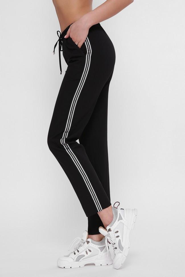 Черные женские спортивные брюки Tiyar Laspas