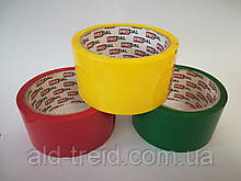 Лента упаковочная (скотч) 48*50 (40 мкм) (жёлтый)