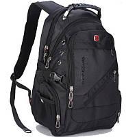 Городской водозащитный рюкзак Swissgear 8810 Black (sg_8810)